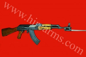 AK47 WITH BAYONETTE