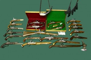 ASSORTED PERIOD WEAPONS