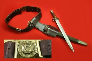 BAYONET BELT AND FROG