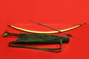 BOW ARROW AND QUIVER