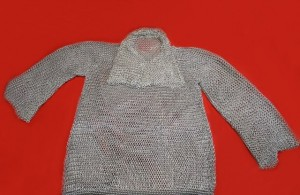 CHAINMAIL SHIRT AND COIF