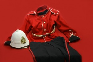 FIRST BOER WAR BRITISH RED COAT UNIFORM