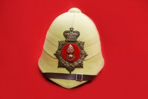 HELMET WITH BADGE