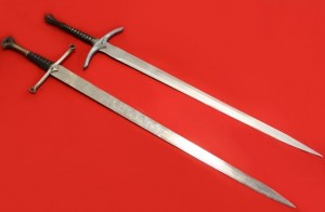 MEDIEVAL BROAD SWORDS